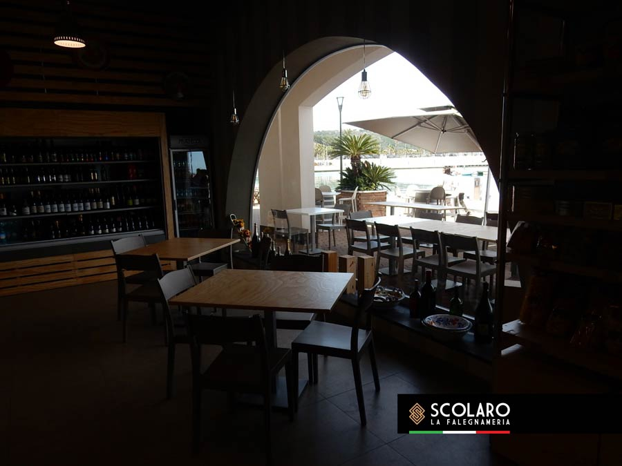 Scolaro La falegnameria - Gugliotta Gourmet - Capo d'Orlando